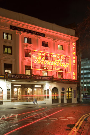 The Mousetrap by Agatha Christie in St Martins Theatre, West End, London, United Kingdom