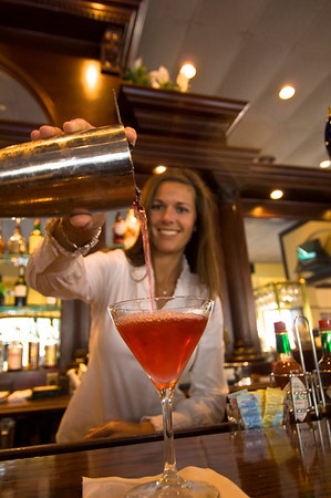 "Coctail is served in ""Harvey's Bistro"" in Downtown , Orlando, Florida, United States of America"