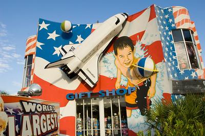 Gift shop on International Drive, Orlando, Florida, United States of America