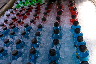 Chilled drinks on sale, Universal Studios, Orlando, Florida, United States of America