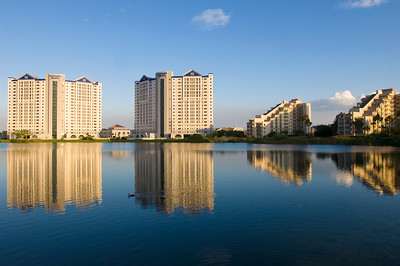 Hotel complex by International Drive, Orlando, Florida, United States of America
