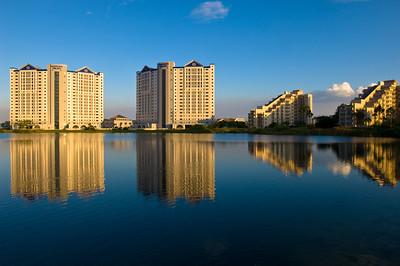 Hotel complex by International Drive, Orlando, Florida, United States of America