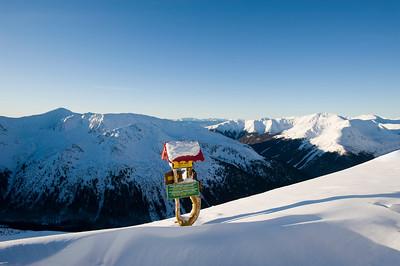 High Tatras seen from Kasprowy Wierch, Zakopane, Tatra Mountains, Podhale Region, Poland