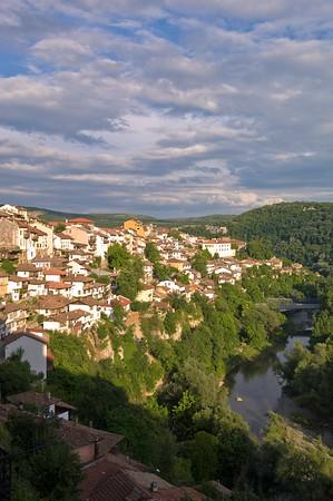 Europe, Bulgaria, Veliko Tarnovo, general view
