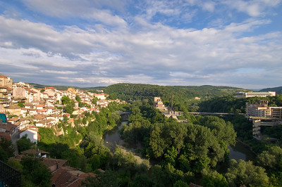 Europe, Bulgaria, Veliko Tarnovo, general view