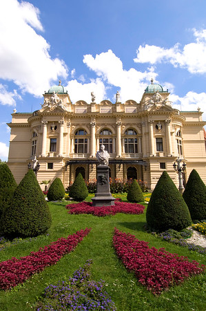 Poland, Cracow, Slowacki Theatre