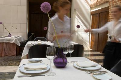 Poland, Cracow, Hotel Stary on ulica Szczepanska, restaurant