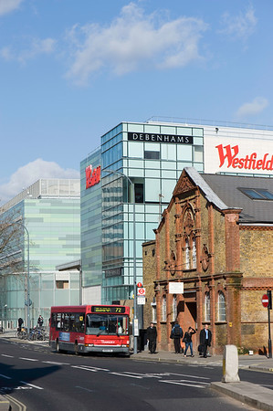 Westfield shopping centre, Shepherds Bush, W12, London, United Kingdom