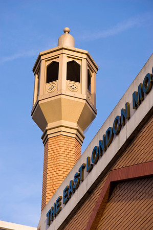 East London Mosque on Whitechapel Road, London, United Kingdom