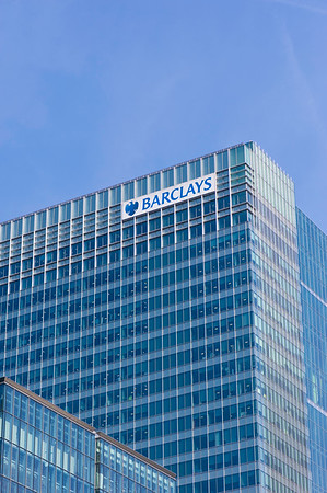Barclays bank, Docklands, E14, London, United Kingdom