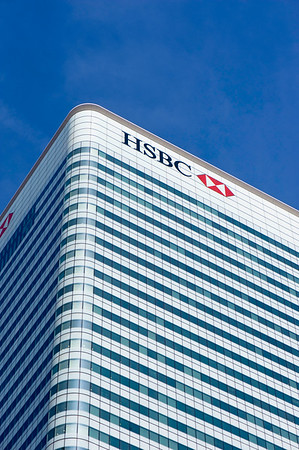 HSBC, Docklands, E14, London, United Kingdom