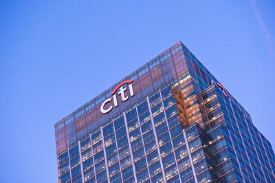 CITI bank, Docklands, London, United Kingdom