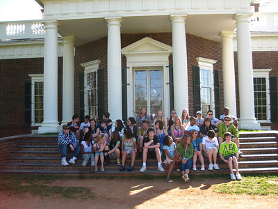 "The ""back porch"" of Monticello."