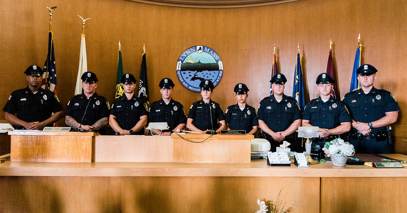 8 14 19 Lynn police officer swearing in