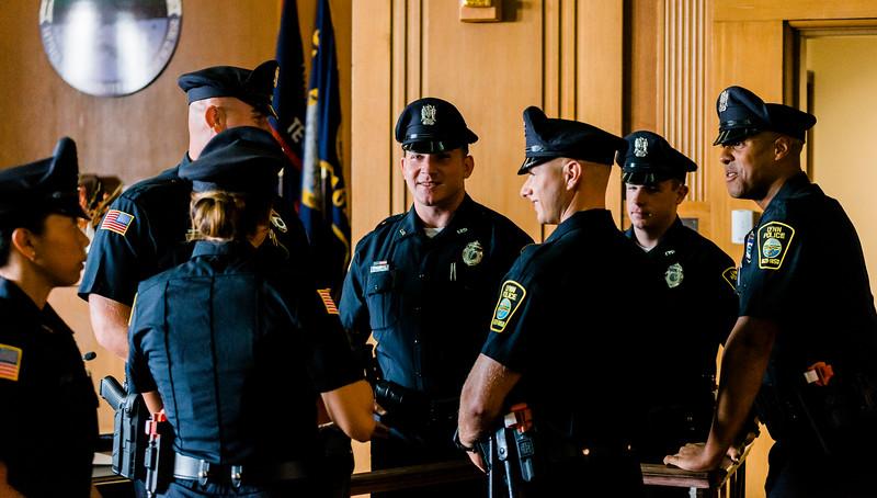 8 14 19 Lynn police officer swearing in 9