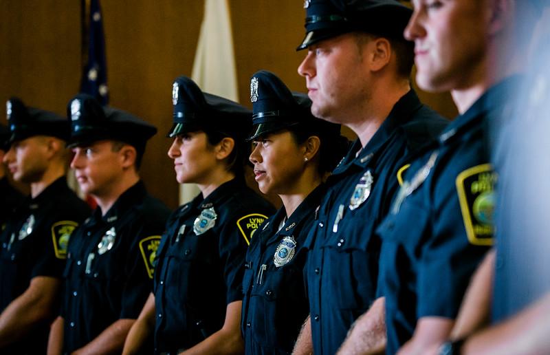 8 14 19 Lynn police officer swearing in 3