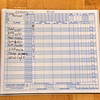 Roster for East Lynn in the Park and Rec BB game 1