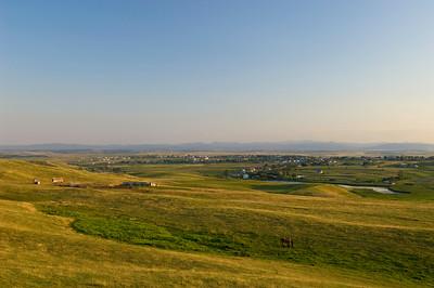 Landscape near Iasi, Moldavia, Romania