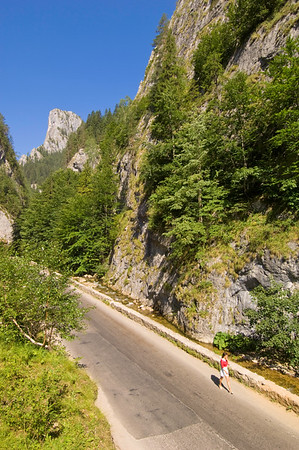 Bicaz Gorges, Ceahlau Massif, The Carpathians, Moldavia, Romania