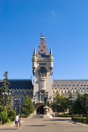 Palace of Culture, Iasi, Moldavia, Romania