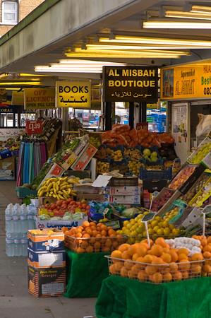 Grocery store selling ethnic produce, Edgware Road, W2, London, United Kingdom