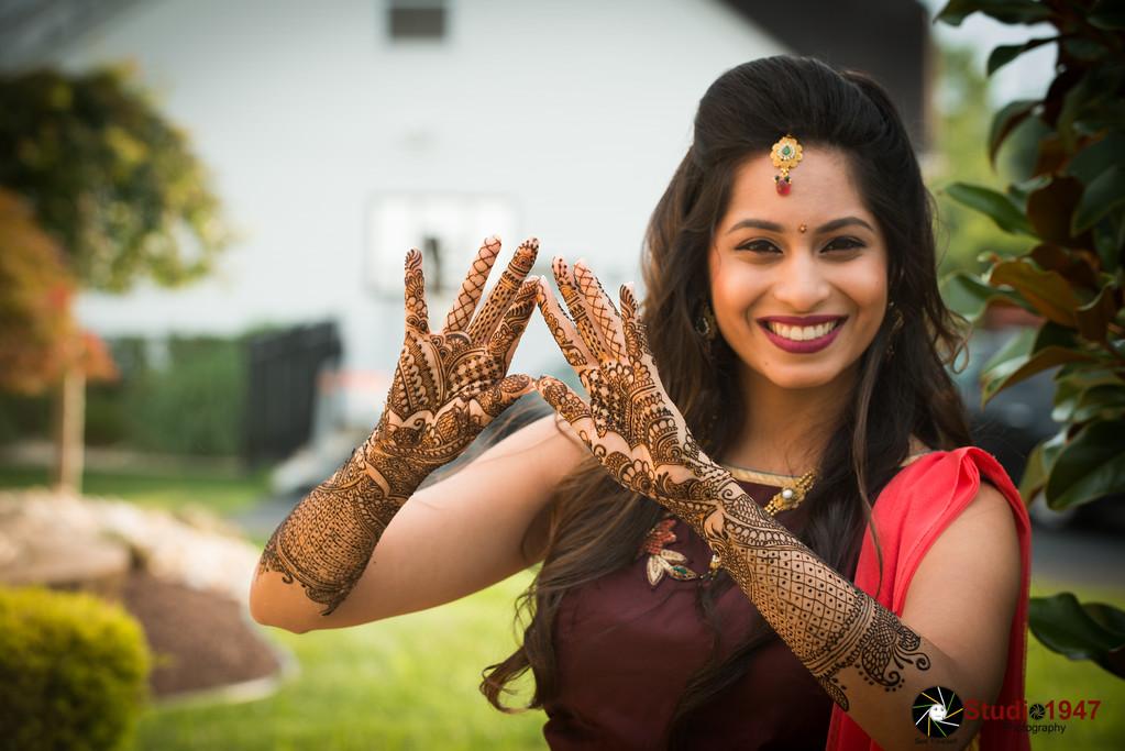 08.04.2017 Rinku (Mendhi and Ganesh Pooja)
