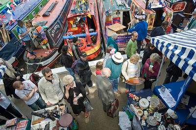Little Venice during Canalway Cavalcade, London, United Kingdom