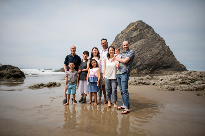 08/06/18 Cannon Beach Family Photos