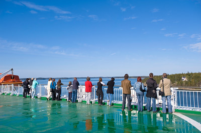 Passenger ferry leaving Turku for Aland Islands, Finland