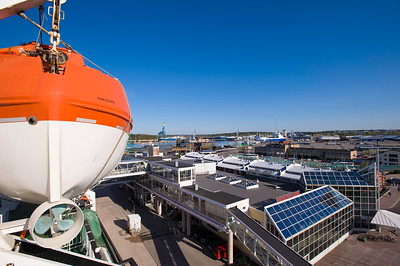 Port, Turku, Baltic Sea, Finland