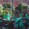 ​Participants enjoyed discounted food and drinks during the event.  A large group of attendees enjoy the afternoon at Nickleby's.​ (Kristi Garabrandt/The News-Herald)