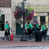 ​The Blacksheep Pipes and Drums played during the pub crawl.​ (Kristi Garabrant/The News-Herald)