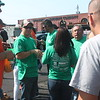 ​Crowds gather to check in at the Second Annual Palumbo Pub Crawl. Participants who bought the $30.00 ticket received a free green pub crawl t-shirt to wear while event volunteers wore orange.​ (Kristi Garabrandt/The News-Herald)