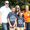 The Second Annual Palumbo Pub Crawl was hosted to help Seamus Culligan, a Willoughby firefighter diagnosed with occuational  brain cancer and his family: wife Cyndi, daughter Emily, 13, and sons Tadhg. 11, and Gavin, 9. (Kristi Garabrandt/The News-Herald)