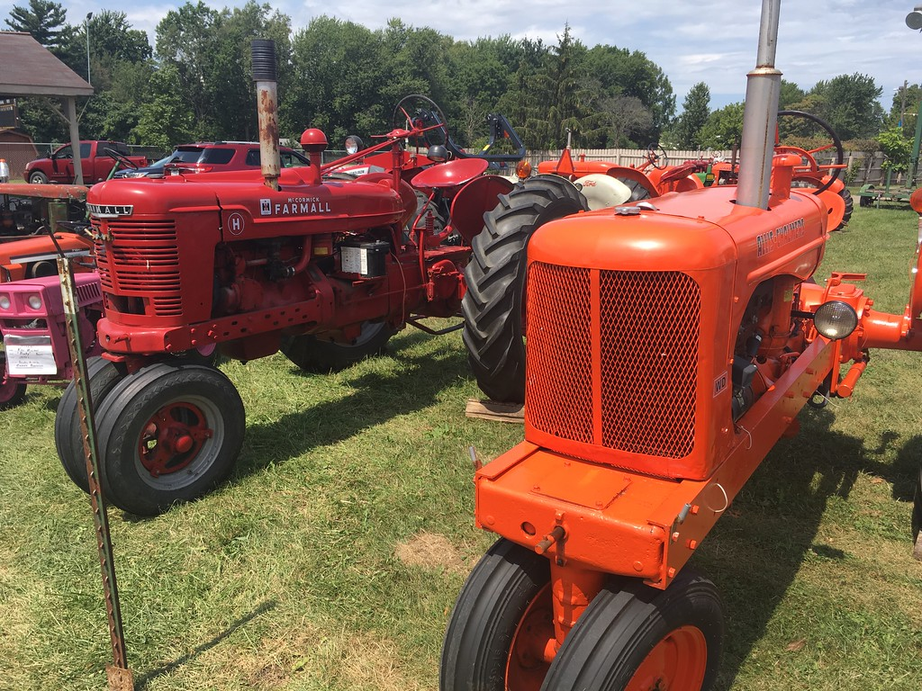 . Tractor display(David S. Glasier/The News-Herald)