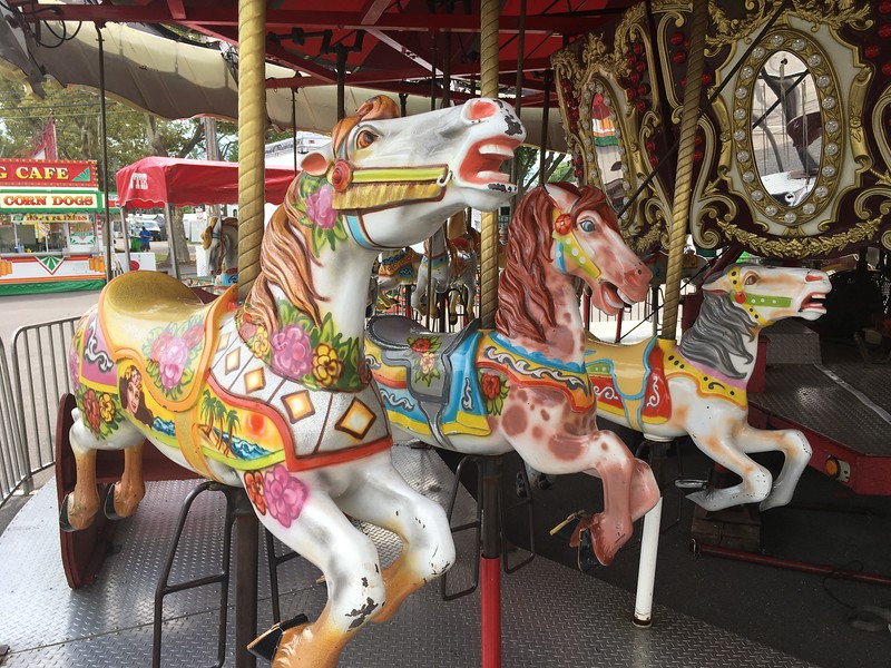 Kessel Bros. carousel (David S. Glasier/The News-Herald)