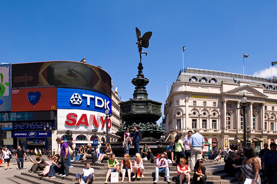 Piccadilly Circus, West End, London, United Kingdom