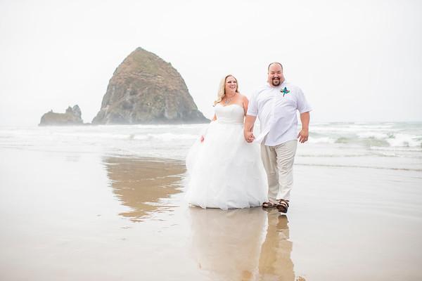 08/09/18 Cannon Beach Bridal Shoot