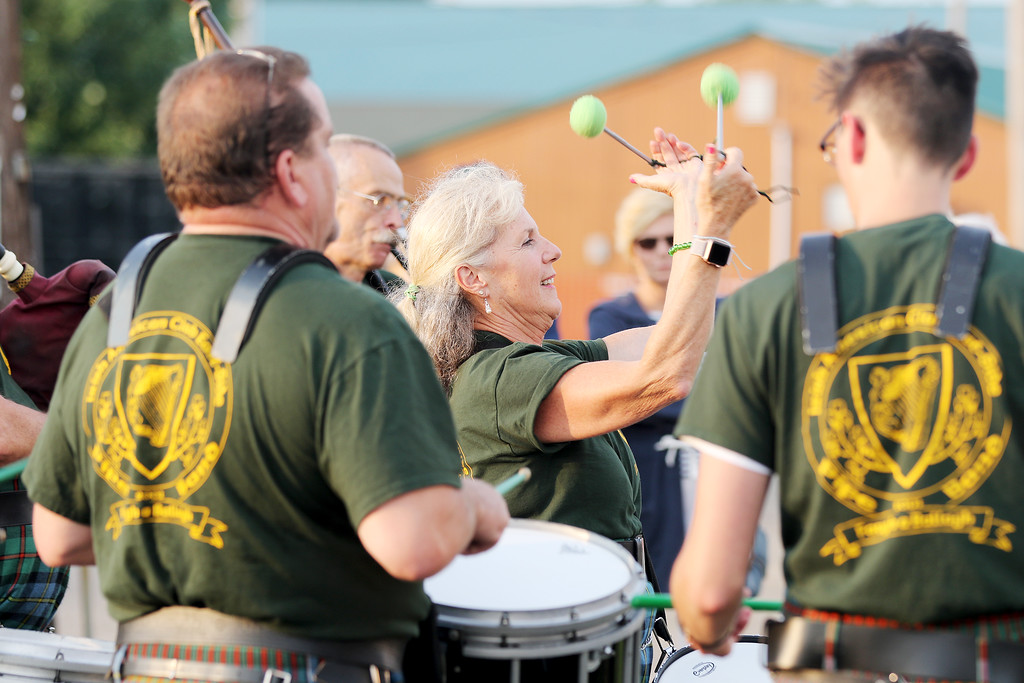 . Jonathan Tressler � The News Herald <br> A scene from opening day of the Ohio Celtic Festival Aug. 10 at the Lake County Fairgrounds in Painesville Township. The event runs through 8:30 p.m. Aug. 12.