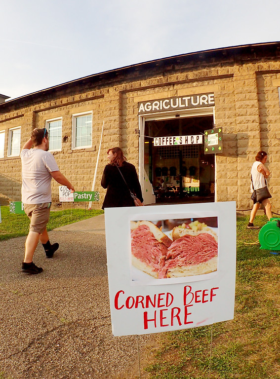 . Jonathan Tressler � The News Herald <br> All roads lead to corned beef Aug. 10 at the Lake County Fairgrounds during the first day of the 20th Ohio Celtic Festival, which runs through 8:30 p.m. Aug. 12.
