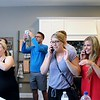 Kristi Garabrandt — The News-Herald <br> Dream House winner Amanda Sopczak's friends and family spread the word that she is 2016 Dream House winner.