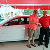 Kristi Garabrandt — The News-Herald <br> Chris Doering is the winner of the 2016 Cherolet Malibu giveaway by Classic Chevrolet.
