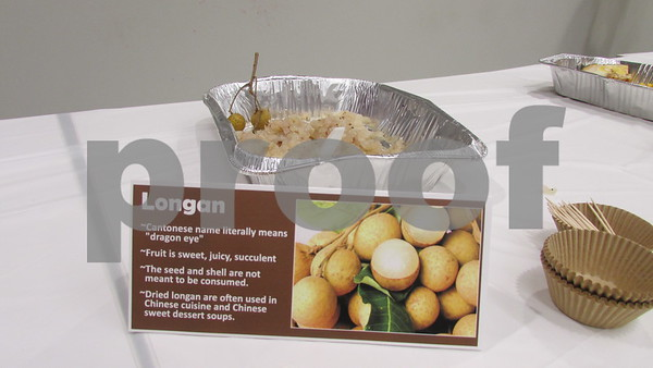 Aimee Barrows - for Shaw Media<br /> Longan fruit was available for trying, too.
