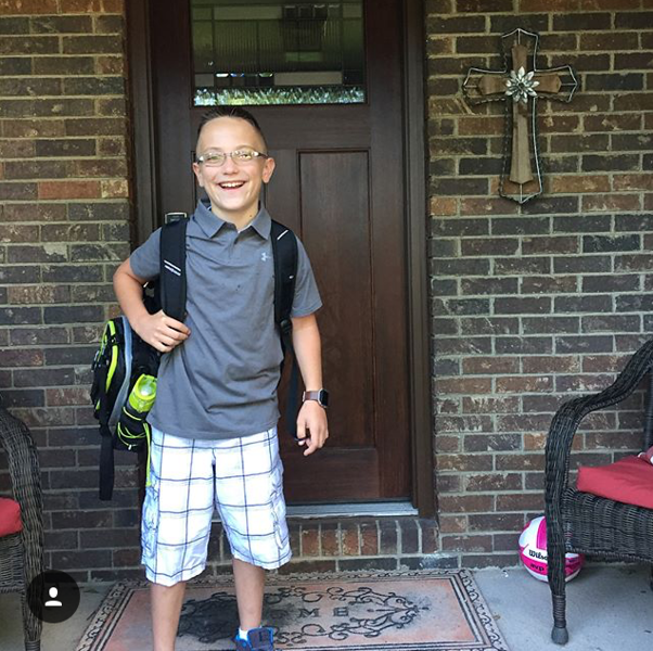 . Blaise is ready for 5th grade at Hadden Elementary. (Submitted)