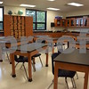 Katrina J.E. Milton - kmilton@shawmedia.com<br /> Indian Creek Middle School changed locations with its first day of school in its new school building Wednesday, Aug. 16. The school, previously located at 425 S. Elm St., is now located in the renovated and expanded Waterman Elementary School, 335 E. Waterman St. Renovation included painting, adding new carpet, tile, LED lights and lockers. The school's new expansion added two science classrooms, an art room, a gymnasium with stage, a weight room and a band and choir room.