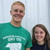 Submitted <br> Dylan Andolsek, left, 17, serves as an executive committee member and dairy chair, and Cori Aviles, 16, dairy assistant on a Lorain County Jr. Fair Board for the 2018 Lorain County Fair Aug. 20-26 at 23000 Fairgrounds Road in Wellington.