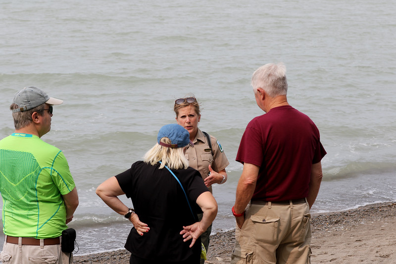 Jonathan Tressler - The News-Herald. A scene from Lake Metroparks' Best of the Bluffs event Aug. 19 at Lake Erie Bluffs Park in Perry Township.