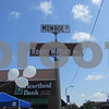 """Aimee Barrows for Shaw Media  """"Roger Watson Way"""" is dedicated on the corner of Main and Monroe streets during the Cruisin' to Genoa Car Show on Saturday in Genoa."""