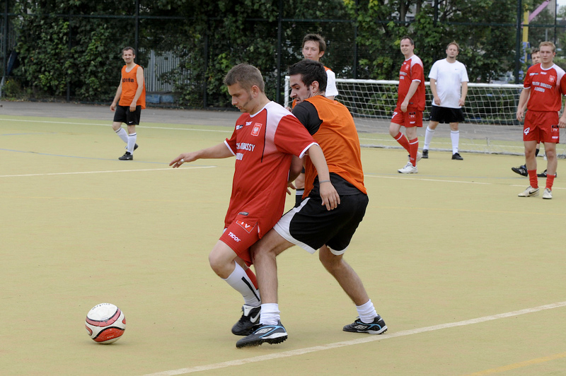 Football match Poland Street vs Polish Embassy, 25.07.2009, London, United Kingdom Images taken by Gregory Wrona Copyright Gregory Wrona 2009 for more information phone 07767 758 875