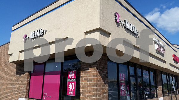 Christopher Heimerman – cheimerman@shawmedia.com<br /> The T-Mobile store is seen Tuesday at 2587 Sycamore Road.